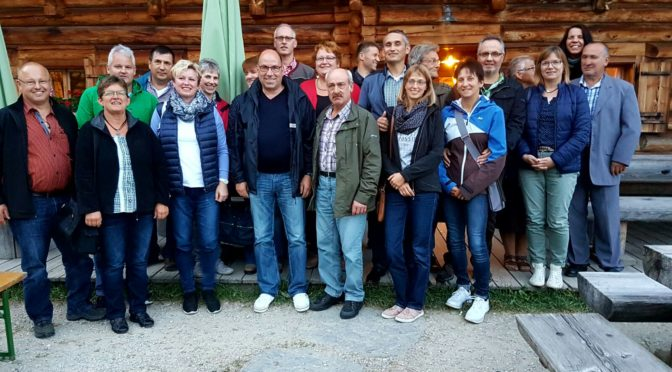 Ausflug 2016 ins Salzburger Land